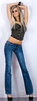Boot Cut Jeans ''Fine Touch''